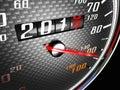 New Year Day Speedometer
