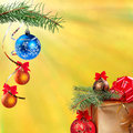 New Year festive background Stock Photography