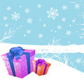 New year gift vector Stock Photos