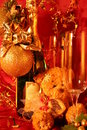 New year holiday card Royalty Free Stock Image