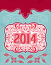 2014 New Year Holidays Design