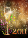 New Year illustration 5 Stock Photography
