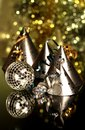 New year image of years eve celebration with hats in Stock Image