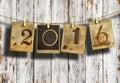 Stock Photo New year 2016