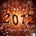 New Year's background with the numbers 2012 Royalty Free Stock Images