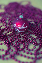 New Year's ball and Christmas decoration Stock Images