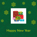 New Year's card Royalty Free Stock Image
