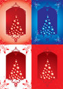New Year's or Christmas backgrounds Stock Photography