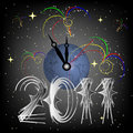 New Year's Eve around the world Royalty Free Stock Photography