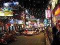 New Year's Eve on Brigade Road Royalty Free Stock Photo