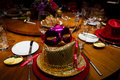 New Year's Eve Party Table Royalty Free Stock Photo
