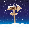 New Year's Eve sign Royalty Free Stock Photos