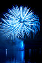 New year`s  firework Royalty Free Stock Photos