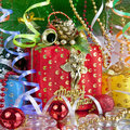New year`s gift Stock Photo