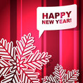 New Year's greeting card Royalty Free Stock Photo
