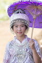 New year s hmong tribes chiang mai thailand jan unidentified female wearing traditional clothes in the celebrate on january Stock Photo