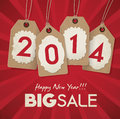 New year sale poster Royalty Free Stock Photography