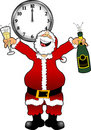 New_year_santa_2 Royalty Free Stock Image