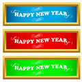 New year set on a white background Royalty Free Stock Images
