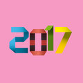 New Year sign on a pink background