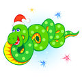 New year snake Stock Photos