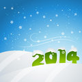 New year snowfall vector design illustration Stock Images