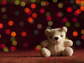 New year teddy bear.. Royalty Free Stock Photo