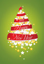 New Year tree 2013 Royalty Free Stock Photo