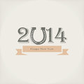 New year vector background Stock Photo
