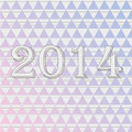 New year vector background Stock Image