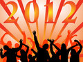 New years eve 2012 Stock Photos