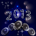 New years eve 2013 Royalty Free Stock Photography