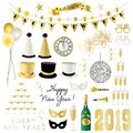 2019 New Years Eve Clipart Gra...