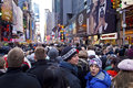 New Years Eve Crowd Times Square Stock Photography