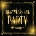 New years eve party background Royalty Free Stock Photo