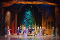 New years performance the nutcracker and the mouse king moscow dec heroes tale of hoffmann at scene of cultural center zil Stock Image