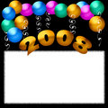 New years postr Royalty Free Stock Photo