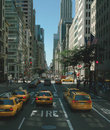 New York 5th Avenue. Royalty Free Stock Image