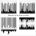 New York barcode Royalty Free Stock Image