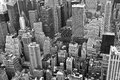 New York Black and white Royalty Free Stock Photo