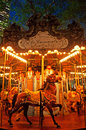 New York: carousel in Bryant Park on Septenber 14, 2014 Royalty Free Stock Photo