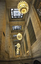 New York City,august 3rd:Grand Central Station inside hall from Manhattan in New York Royalty Free Stock Photo