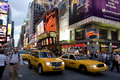 New York  city Broadway Royalty Free Stock Images