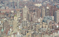 New york city buildings crowded texture Stock Image