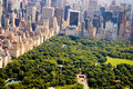 New York City and Central Park Royalty Free Stock Photo