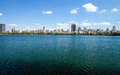 New york city central park jacqueline kennedy onassis reservoi reservoir Stock Images