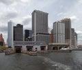 New york city ciew view of usa Stock Photos