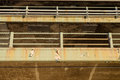New york city elevated highway rusting and decrepit after years of use located in brooklyn Royalty Free Stock Photos