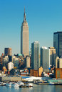 New York City empire state building Stock Images