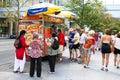 New York City Food Vendor Cart
